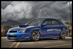 wrx wagon.  i WILL own one of these; not sure the year yet, but i'll take what i can get. :)