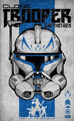 Poster Clone Wars by Daniel Campos, via Behance