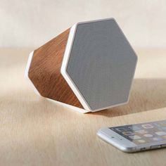 Recover Outlier Portable Bluetooth Speaker Boasts Wooden Casing and Geo-Cone…