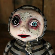 Michele Lynch Art Blog: Art Doll Quarterly Pieces listed on Etsy!