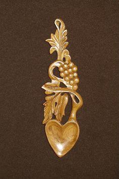 lovespoon 310 [spoon310] - $39.66 : Welsh love spoons The Lovespoon Gallery