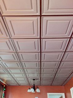 How To Install Decorative Ceiling Tiles Ceilume Ceiling Tiles  Not Style Stingy  Pinterest  Ceiling