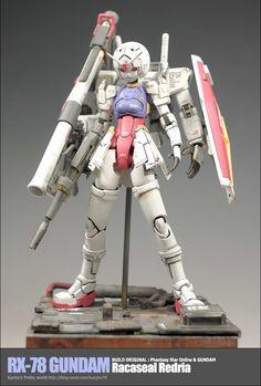 RX-78 Gundam Racaseal Redria - Custom Build
