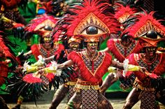 ✈ Philippines The Dinagyang Festival is celebrated every fourth weekend of January to honor the Christianization of the natives and to respect the Holy Child Jesus.