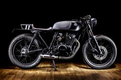 Yamaha XS400 Cafe Racer by Macco Motors - Photos by Sergio Ibarra #motorcycles #caferacer #motos | caferacerpasion.com