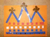 Kroon - weven met papier