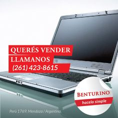 Querés VENDER, llama al....  Hacelo #Simple  https://www.facebook.com/remates.benturino