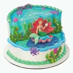 pastel de la sirenita - Buscar con Google