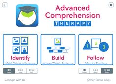 Advanced Comprehension Therapy - Understanding at a Whole New Level