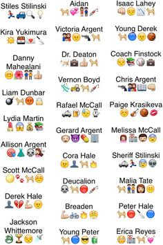 Teen Wolf emojis 1 problem; They have Aiden* but not Ethan