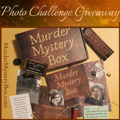 Show off those detective skills for your chance to win Murder Mystery Boxes for the year! Simply snap a photo while solving our Murder Mystery Box and send it our way. We'll choose a winner to receive a free Annual Subscription to Murder Mystery Box. Mystery Box, Reading Books, Happenings, Call Her, First Photo, Detective, Giveaway, Crime, Boxes