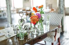 eclectic wedding at Hudson Pocketbook Factory - photo by Keira Lemonis Photography http://ruffledblog.com/eclectic-wedding-at-hudson-pocketbook-factory