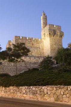 ✮ Old City, Tower of David Museum, Jerusalem, Israel.
