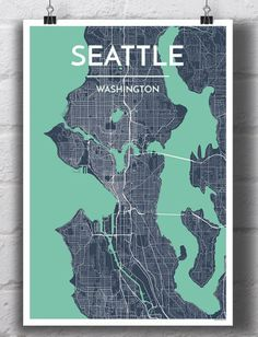 US Map made from stylized type Maps Pinterest Seattle
