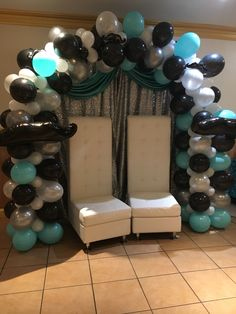 Mustache Theme Balloon Arch Lil Man Baby Shower, Angel Baby Shower, Baby Shower Deco, Man Shower, Boy Baby Shower Themes, Baby Shower Cakes, Baby Showers, Baby Balloon, Balloon Arch