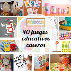 Games For Kids, Diy For Kids, Crafts For Kids, Infant Activities, Preschool Activities, Lapbook Templates, Diy Toys, Kids Education, Montessori Education