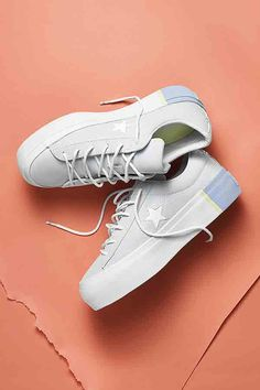 One Star. The Platform One Star collection is available now. Sock Shoes, Cute Shoes, Me Too Shoes, Shoe Boots, Platform Sneakers, Shoes Sneakers, Platform Converse, Converse One Star Shoes, Sneaker Store