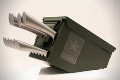 Delta Echo Ammo Can Knife Set