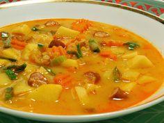 Thai Red Curry, Quinoa, Menu, Ethnic Recipes, Soups, Bulgur, Menu Board Design, Soup