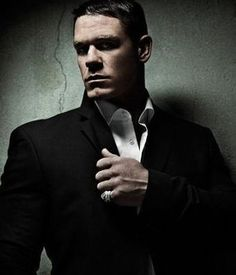 John Cena - Something about a man in a suit.