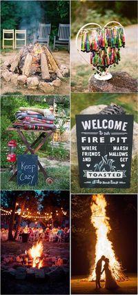 Summer Rustic Camp Wedding Ideas / http://www.deerpearlflowers.com/camp-wedding-ideas/2/