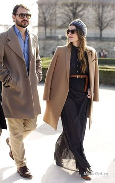 Decor is like butter: Street Style by the Sartorialist: the camel trend. The Sartorialist, Fashion Couple, Only Fashion, Love Fashion, Womens Fashion, Fashion Trends, Girls Black Dress, Kooples, Stylish Couple