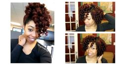 Natural Hair | Heatless Curls with Hydratherma Naturals Stocked now at www.hair2mesmerize.com