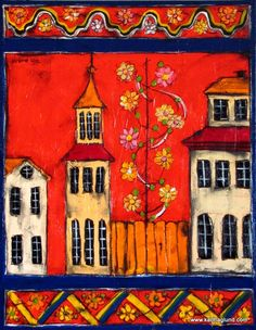 Swedish folk art   Scandinavian folk art