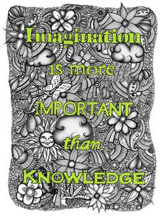 Imagination is more.... on Behance