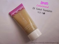 Monday Review ║ AVON colortrend oil control foundation (near nude)