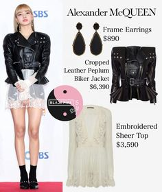Les 47 meilleures images de Blackpink outfit | Tenue