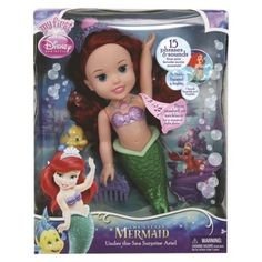 Disney Princess Under the Sea Surprise Ariel Doll  --Harley