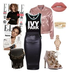 """Beyoncé"" by costaelsa on Polyvore featuring NLY Trend, Ivy Park, Chloé, Lime Crime, Burberry and River Island"