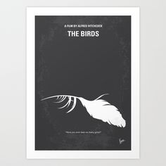 My Birds minimal movie poster Art Print by Chungkong | Society6