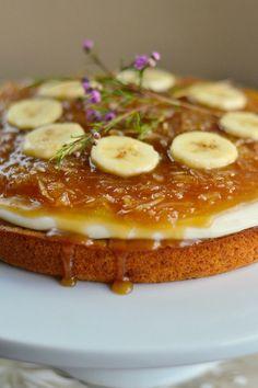 Salted Caramel Coconut Banana Cake @Sandra Vanderbeck Heyrich | Reluctant Entertainer