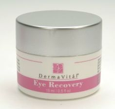 Eye Recovery by DermaVitál. $29.95. Great moisturizer for all skin types.. Treats bags, folds, lines and wrinkles around the eye area giving your face a renewed, refreshed look.. Plumps out fine lines to restore a youthful glow.. Did you know that the skin around your eyes is the thinnest skin on your face and that even a small amount of water loss can cause wrinkles? Usually these wrinkles are the earliest signs of aging or stress. Who needs them? Not you! Start recovering ...