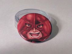 Comic Book 1.5 Button// Juggernaut, $1.00