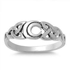 Sterling Silver Moon Ring for $6.99 Please be sure to visit www.silver-mama.com for additional deals