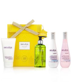 I like to buy DECLÉOR for the people who look after me. My hairdresser loves products so this year she is having the Essential Cleanse & Glow trio which contains the Essential Cleansing Milk, Tonifying Lotion and the Radiance Flash Mask to get her skin party ready for the New Year celebrations. Also I'll be treating her to the Hand Care Duo which contains the new DECLÉOR hand cream ideal for any hairdresser to help protect and nourish dry hands. Laura Miles, DECLÉOR Training Consultant