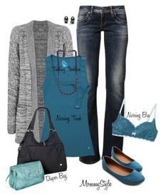 MommyStyle: Late Spring by lauraedith on Polyvore featuring polyvore, fashion, style, WearAll, LTB by Little Big, Bun Maternity, Ollio, Black Pearl, Chewbeads and clothing