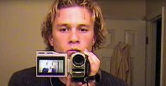"""I Am Heath Ledger will feature interviews with the actor's close friends, family, and colleagues, as well as his own footage. Ledger always had a camera in his hand, according to friends. The Trailer For """"I Am Heath Ledger"""" Will Probably Make You Cry Beautiful Boys, Pretty Boys, Cute Boys, Beautiful People, Drake E, You Are My Moon, Spike Tv, Christopher Nolan, Comme Des Garcons"""