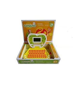 Lightahead Learning Machine Toy Portable Multifunction Intellective Computer Featuring 78 Activities and Games Intelligent learning machine Children Touch and Learn Educational Toy YELLOW  Lightahead® Intellective Computer with 78 functions and Mouse and Large LCD Screen. You know how important learning the fundamentals to your child's future. These basic skills provide your child with the building blocks for success. They are simplified yet interesting computers of unique realistic ..