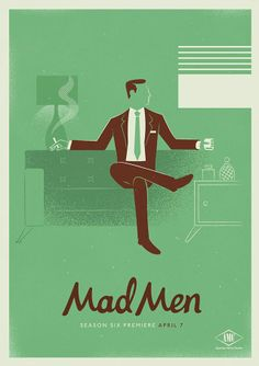 Mad Men...I am so gonna miss this show.