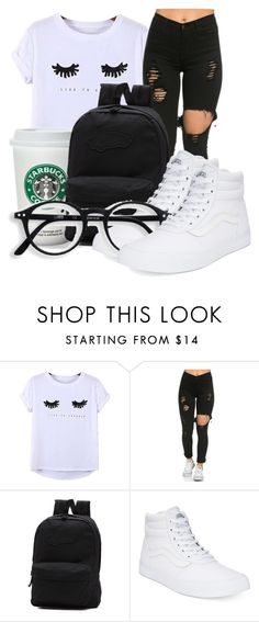 """""""Untitled #554"""" by msfts-rep on Polyvore featuring Chicnova Fashion and Vans"""