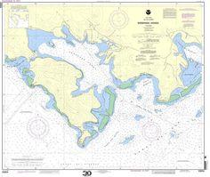 NOAA Nautical Chart 25654: Ensenada Honda