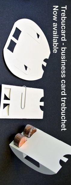 Cool card trebuchet