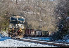 RailPictures.Net Photo: NS 9774 Norfolk Southern GE C44-9W (Dash 9-44CW) at Maher, West Virginia by Billy Hager