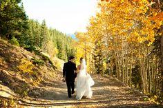 Aspen Mountain Destination Weddings from Luxe Mountain Weddings Magazine | fall wedding