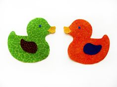 Applique Duck set