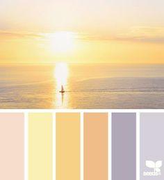 #palette #yellow #sunset